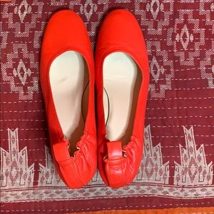Everlane Day Heel US10  Bright Red